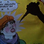 Feminist Cartoonists comment on the Language of Violence